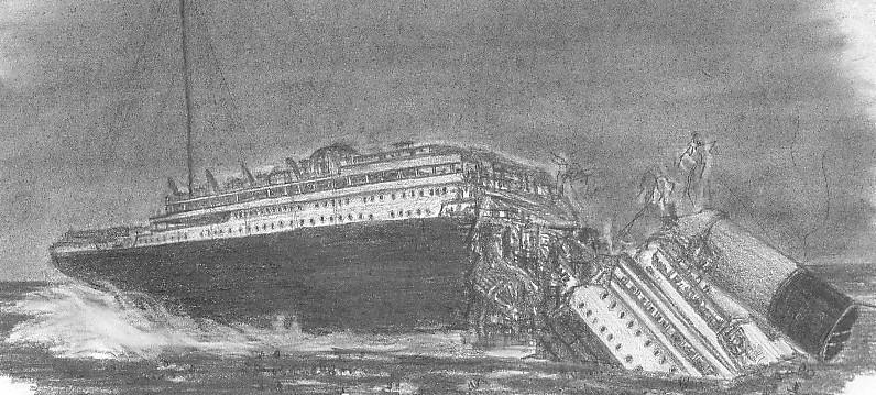 Les dessins sur le titanic - Titanic dessin ...