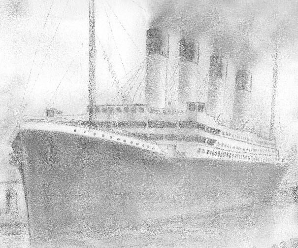 Les dessins sur le Titanic